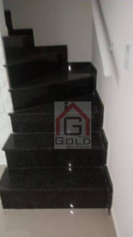 Sobrado com 2 dormitórios à venda, 70 m² por R$ 350.000 - Vila São Pedro - Santo André/SP - Foto 7