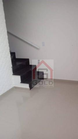 Sobrado com 2 dormitórios à venda, 70 m² por R$ 350.000 - Vila São Pedro - Santo André/SP - Foto 2