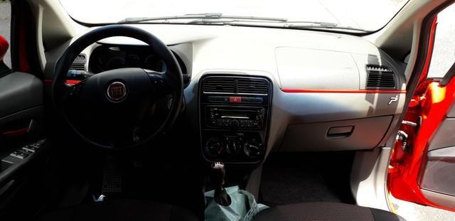 Fiat/ Punto sporting 1.8 2012 completo câmbio manual troco carro/moto - Foto 11