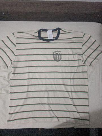 Camiseta Osklen Listrada GG NOVA - Foto 2