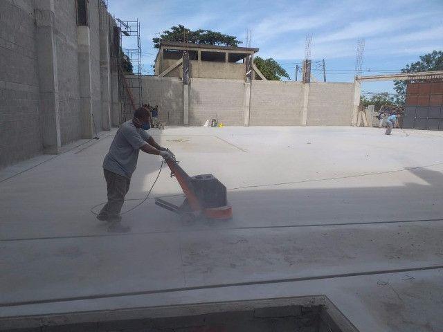 Polimento de piso