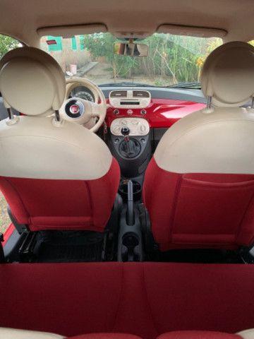 Fiat 500 2013 1.4 Flex Manual Completo - Foto 12