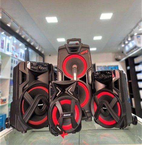 Caixas Amplificadas Amvox em até 10x sem Juros (Lojas WiKi) - Foto 2