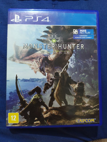 Monsters Hunter world PS4