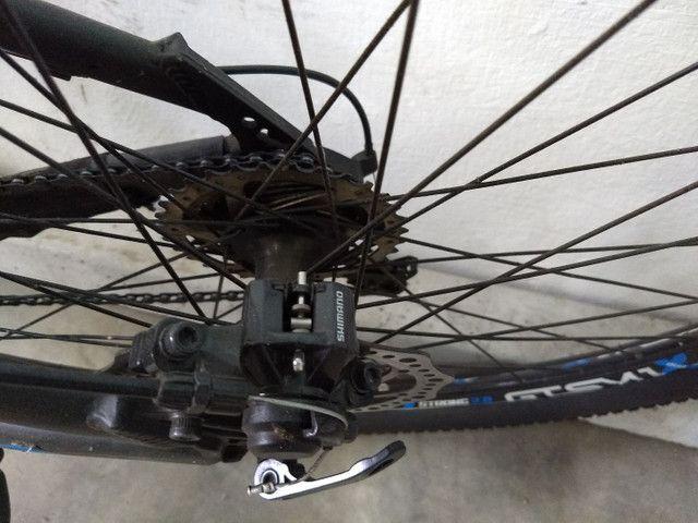 Bike GTS Ivtec completa com todos acessórios K7 toda Shimano 27v  - Foto 2