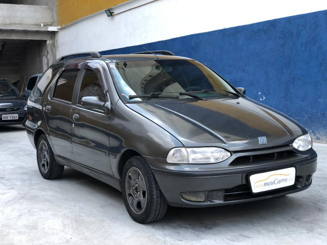 Fiat Palio Weekend 1.0 6 marchas. Carro completo!
