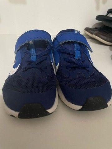 Tênis Nike azul 31 - Foto 2