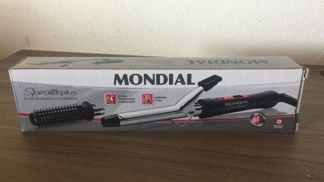 Escova Modeladora Mondial - Usada - Foto 2