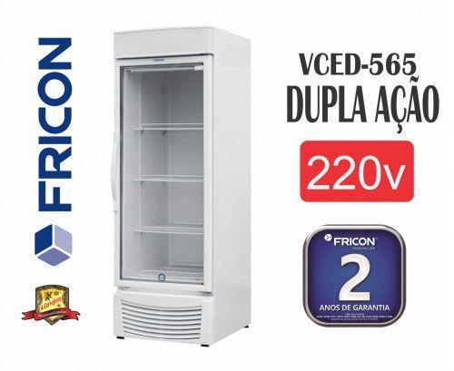 Freezer Para congelamento e resfriamento Frcion até -18° pronta entrega