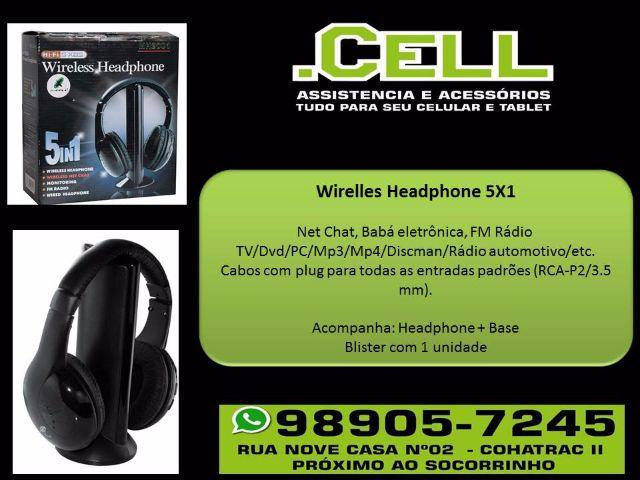 Headphone Wireless 5x1