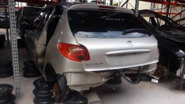 Peças usadas Peugeot 206 2006 1.6 16v flex 113cv manual - Foto 2