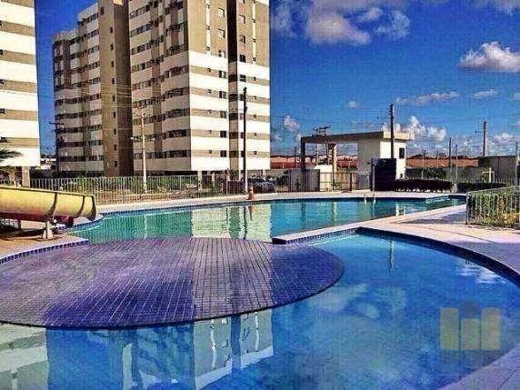 Apartamento residencial à venda, Cidade Universitária, Maceió.