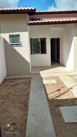 Casa com 2 quartos no centro de Itaitinga, com preço imbatível!!!