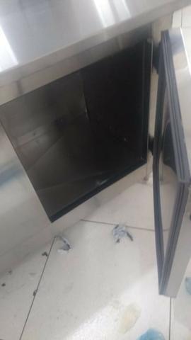 Balção Refrigerado Condimentadora Ar Forçado 100% Inox - Foto 3