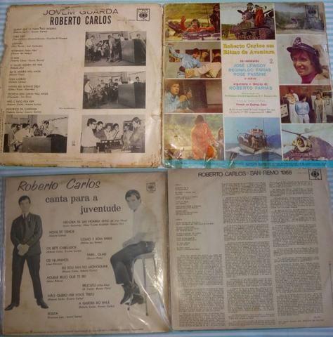 4 LPs Roberto Carlos- 45,00 - Foto 2