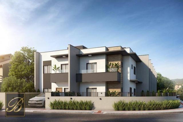 Sobrado com 2 dormitórios à venda, 66 m² por R$ 190.000 - Jardim Iririú - Joinville/SC - Foto 2
