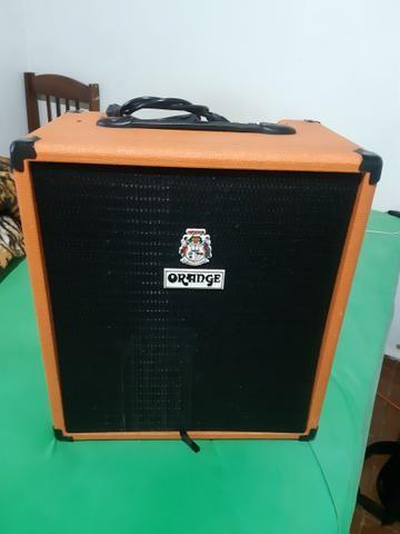 Vendo ou troco por pedal duplo Iron Cobra Amplificador Contra Baixo Orange 50 BXT