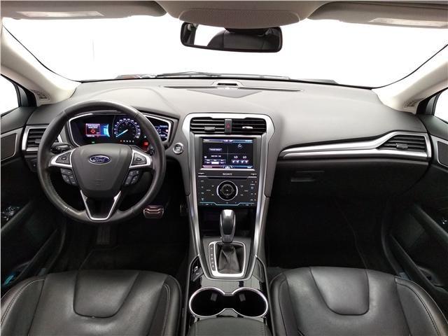 Ford Fusion 2.0 titanium fwd 16v gasolina 4p automático - Foto 12