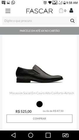 Sapato social N 40 Marca Fascar - Foto 4