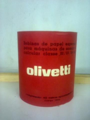 Bobinas Originais para Calculadora Olivetti (antiguidade)