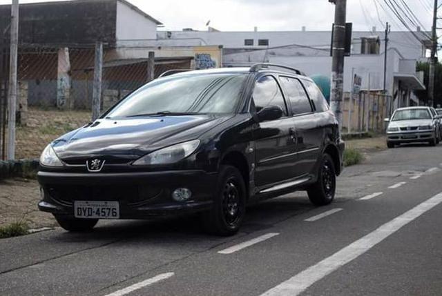 Peugeot sw 1.4 flex 2007