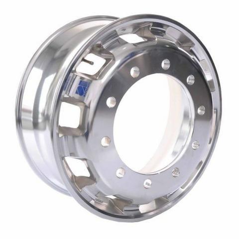 Roda de ferro e aluminio para caminhoes e carretas - Foto 2