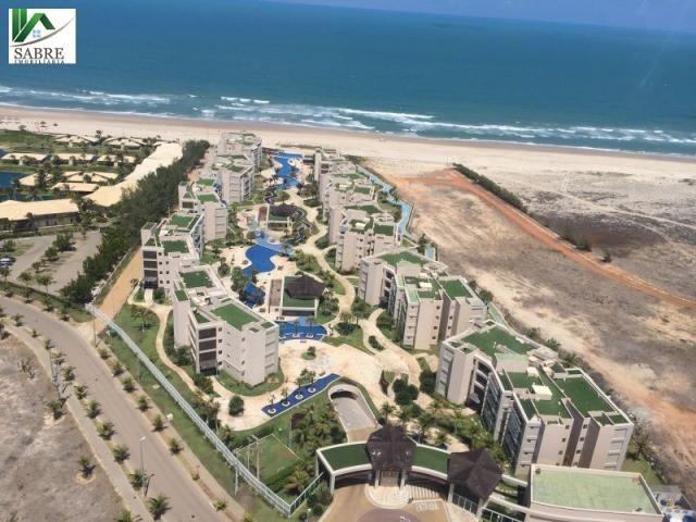 Apartamento Beira Mar 2 quartos Fortaleza-CE. RIVIERA BEACH PLACE - Foto 3