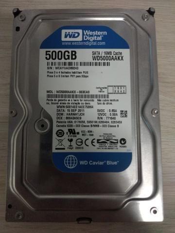 HD 500gb PC