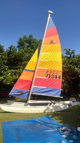 Barco veleiro Hobie cat HC 16 pés - Foto 2