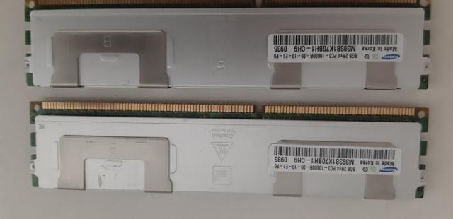 Memoria RAM PC ECC DDR3 8GB 10600 com dissipador - Foto 2