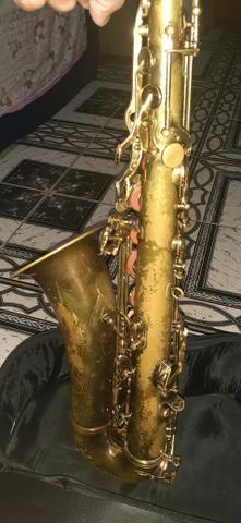 Vendo sax tenor - Foto 6