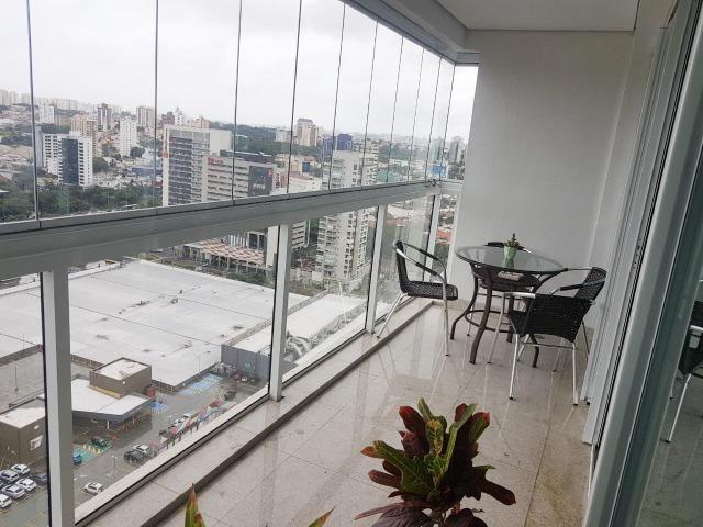 Linda Sala Comercial Mobiliada Andar Alto E Varanda - Foto 9