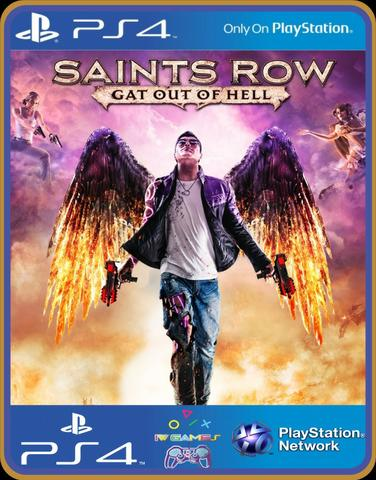 Ps4 Saints row gat out of hell