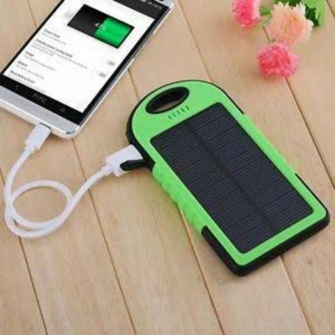 Carregador Bateria Externa Solar 8000 Mah Usb Celular Tablet - Foto 3