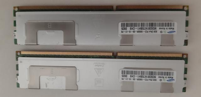 Memoria RAM PC ECC DDR3 8GB 10600 com dissipador