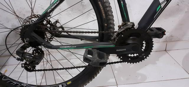 Bike KSW Alumínio Aro 29 Preto Fosco - Foto 3