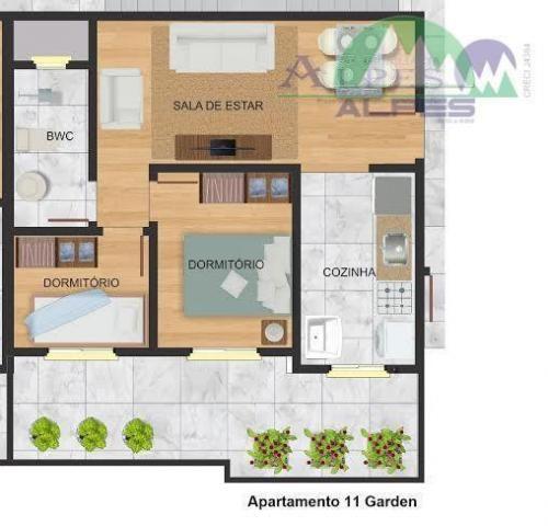 Apartamento residencial à venda, colônia murici, são josé dos pinhais. - Foto 4