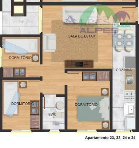 Apartamento residencial à venda, colônia murici, são josé dos pinhais. - Foto 14