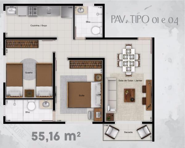 Residencial itaoca. aptos 02 quartos! - Foto 7