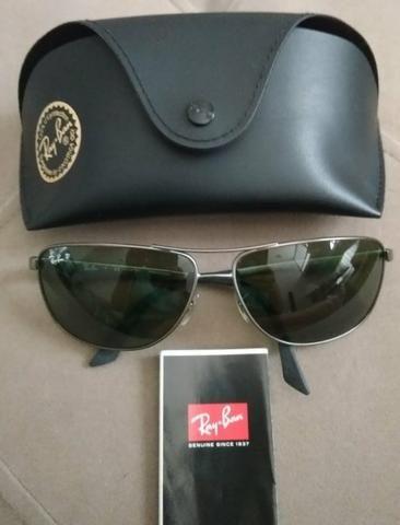 e217d6f2a5241 Óculos Ray-Ban lente Polarizada modelo RB3506 029 9A - Bijouterias ...