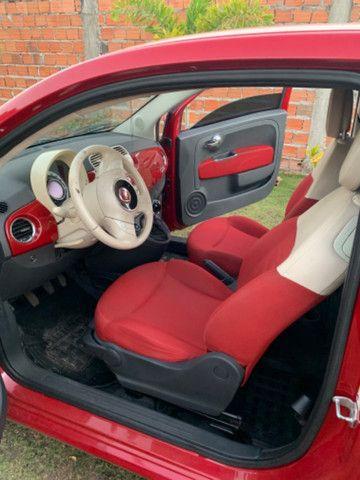 Fiat 500 2013 1.4 Flex Manual Completo - Foto 3