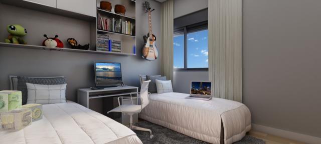 Residêncial Piemonte - Apartamento com 3 suítes e ótima localização no Jardim - Santo Andr - Foto 3