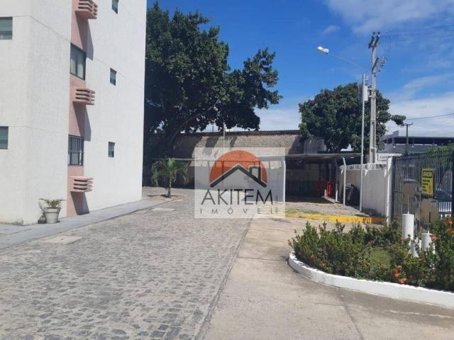 Apartamento com 2 dormitórios à venda, 53 m² por R$ 149.990,01 - Rio Doce - Olinda/PE - Foto 4