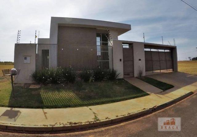 Vende-se casa com 150,41 m2 de laje, Bairro Green Ville ll ? Naviraí - MS - Foto 3