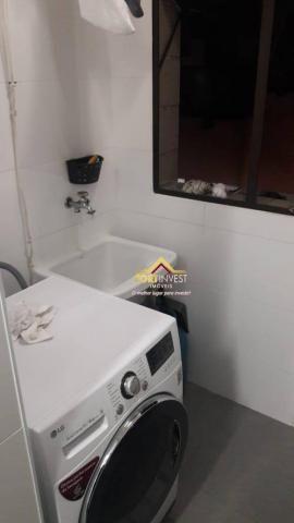 Apartamento com 1 dormitório à venda, 53 m² por R$ 170.000,00 - Canto do Forte - Praia Gra - Foto 5