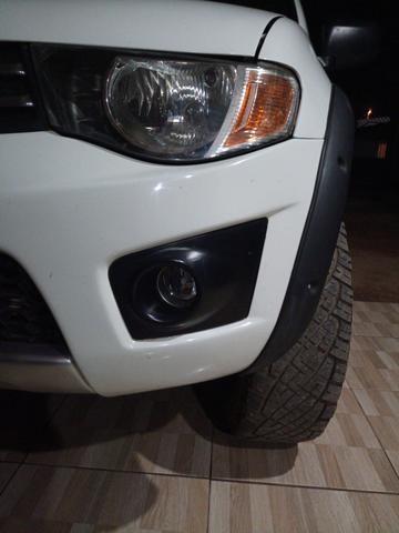 Triton 3.2 4x4 diesel pra venda ou troca - Foto 6