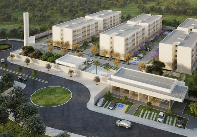 MF - Condomínio Clube Vila da Mata - 2Qts,Varanda e piscina e Lazer