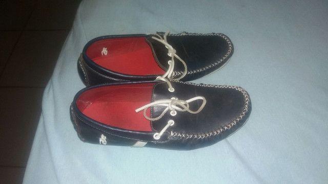 Sapato Mocacine usado apenas 3vz so 23 reais - Foto 3