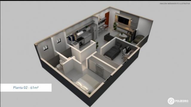 Apartamento à venda com 2 dormitórios em Paratibe, João pessoa cod:007110 - Foto 8
