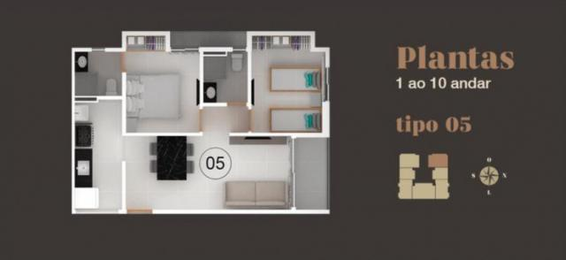 Apartamento à venda com 2 dormitórios em Bancários, João pessoa cod:006095 - Foto 5